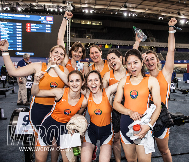 Lee Rowing Club at the British Rowing Indoor Championships 2018