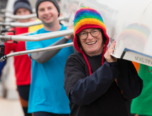 The London Otters hold second Rainbow Races Regatta in support of Stonewall