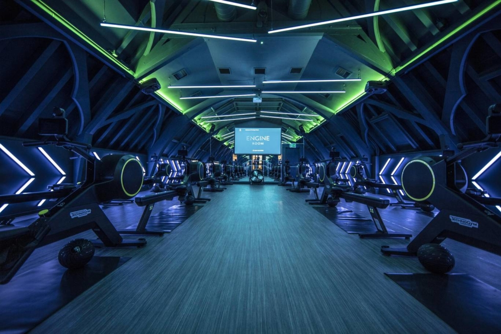 The Engine Room, London's first dedicated indoor rowing studio