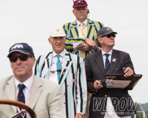 Stewards enforcing the rules at Henley Royal Regatta