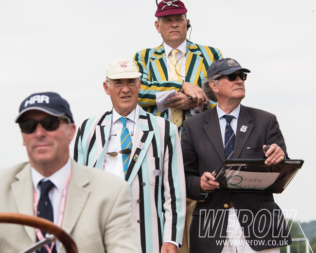 Stewards enforcing the rules at Henley Royal Regatta