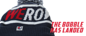 The WEROW bobble hat for rowers