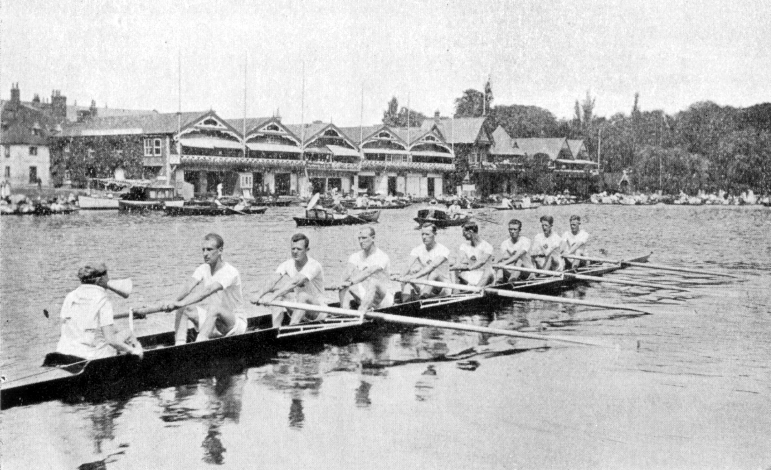 1919 the Australian Henley Peace Regatta crew WEROW - Henley Royal Regatta announces the return of the King's Cup for international military mixed eights