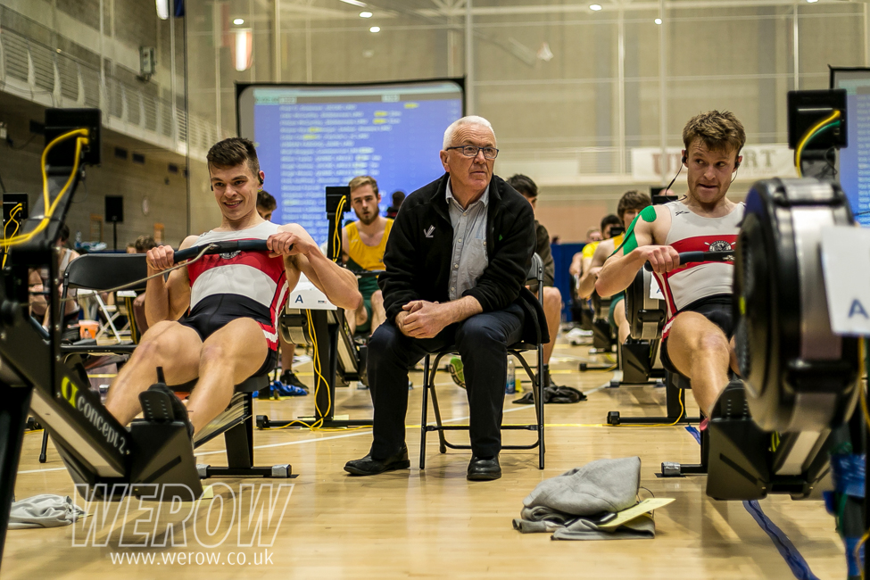 Fintan and Jake McCarthy at the Irish Indoor Rowing Championships 2018 (Image: John O'Shaughnessy)