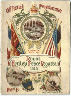 Royal Henley Peace Cup 1919 WEROW - Henley Royal Regatta announces the return of the King's Cup for international military mixed eights