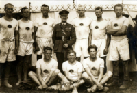 The AIF N0.1 Crew. Winners of the 1919 Royal Henley Peace Regatta WEROW - Henley Royal Regatta announces the return of the King's Cup for international military mixed eights