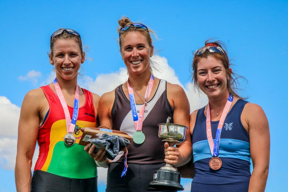 Brooke Donoghue, Emma Twigg and Zoe McBride