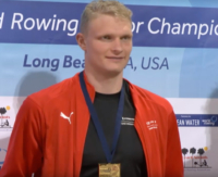 Oliver Zeidler WEROW 1 - Olena Buryak and Oliver Zeidler dominate the World Rowing Indoor Championships