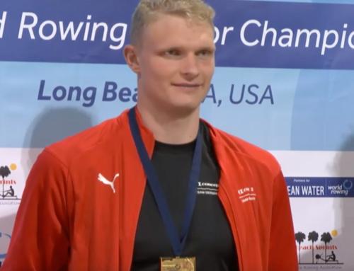 Olena Buryak and Oliver Zeidler dominate the World Rowing Indoor Championships