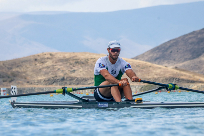 Robbie Manson at the New Zealand National Championships