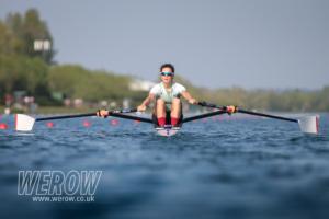 Imogen Grant of CUWBC at British Rowing Trials 2019