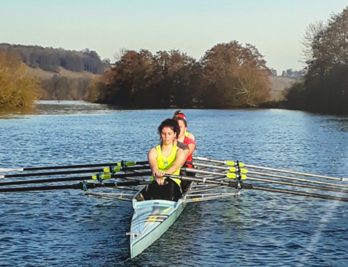 The new kids on the block – Thames Scullers