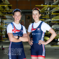 Ellie Piggott and Imogen Grant in the LW2x for ERCH
