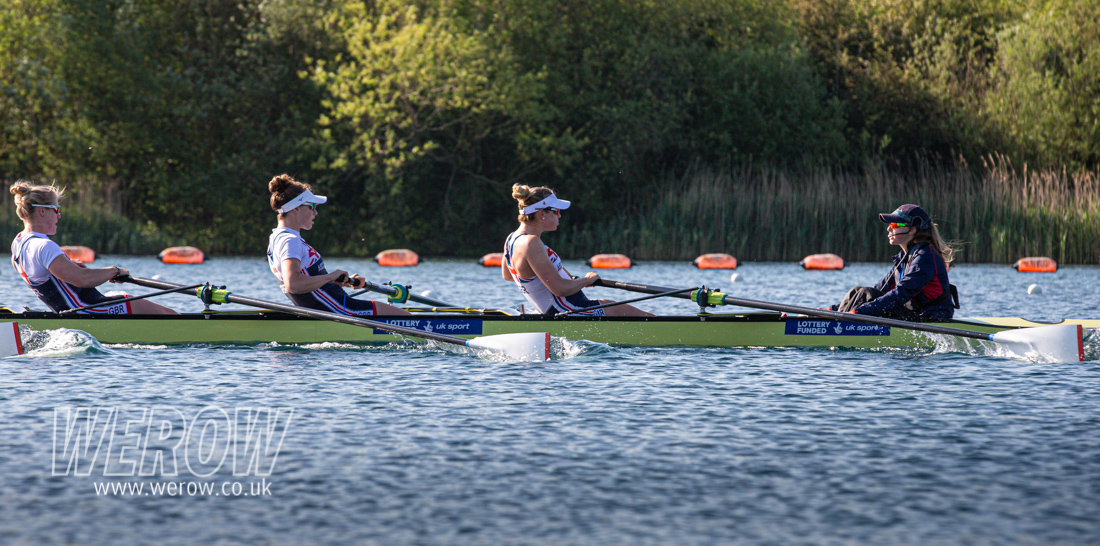 Zoe Lee, Karen Bennett, Holly Norton and Matilda Horn - GB Rowing team W8+ for Lucerne 2019_WEROW