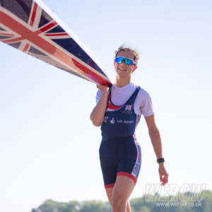 Imogen Grant of CUWBC heading for the World Rowing Cup 2 in Poznan for Team GB