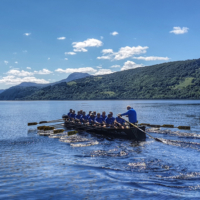 Loch Ness rowing record broken 01 2 - Loch Ness rowing record broken after 26 years
