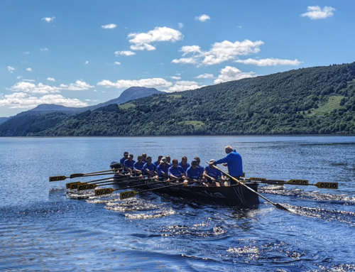 Loch Ness rowing record broken after 26 years