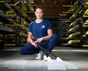 GB Team rower Maddie Arlett at Caversham