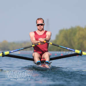 Olympic silver medallist Peter Chambers announces his retirement from rowing seen here at GB Trials 2019