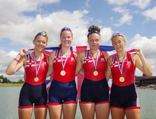 GB rowers win the GB v France match in Nottingham